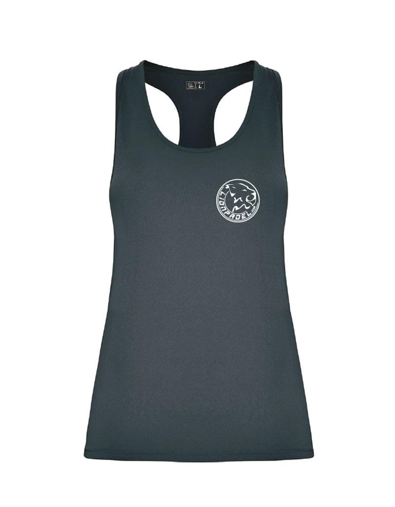Camiseta Tecnica Gris Mujer Padel